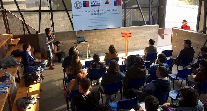 Seminario Turismo científico en Antofagasta, Agosto 2019