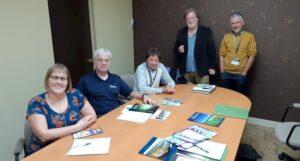 Socios de la Red Internacional para el Turismo Científico estrecha vínculos durante encuentros en Quebec