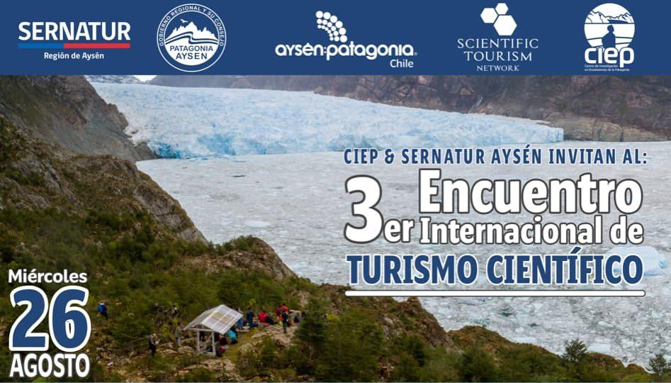 Afiche 3er Encuentro de Turismo Científico