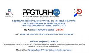 X SEMINARIO DE INVESTIGACIÓN TURÍSTICA DELMERCOSUR (SEMINTUR)